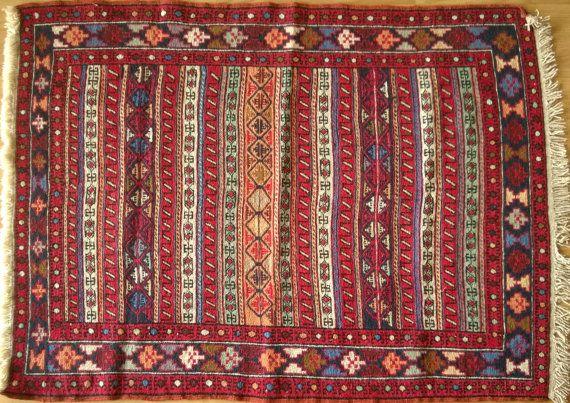 Kilim Rug 'Rahra Sumack' 4.58 x 3.44 ft Small rug Kilim rugs Small area rug Small kilim rug Area rugs Handwoven Kilim Rug Housewarming Gift