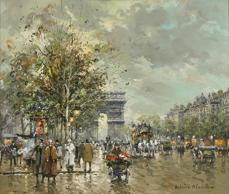 Triomphe, Avenue Champs-Elysees