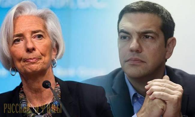 Глава МВФ и греческий премьер обсудили сокращение долга Греции http://feedproxy.google.com/~r/russianathens/~3/v6vgAKdCCt0/21261-glava-mvf-i-grecheskij-premer-obsudili-sokrashchenie-dolga-gretsii.html  Директор-распорядитель Международного валютного фонда Кристин Лагард и премьер-министр Греции Алексис Ципрас встретились в воскресенье в Пекине и обсудили ход экономических реформ, которые Греция проводит по настоянию международных кредиторов, а также потенциальное сокращение долга страны…