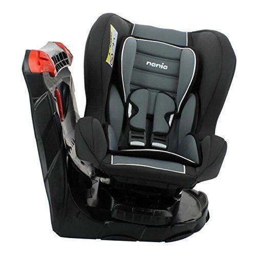 Nania Siège Auto Pivotant de la Naissance Gris Foncé à 18 kg: Siege-Auto Revo 360° avec installation de l'enfant au sein de la voiture tres…