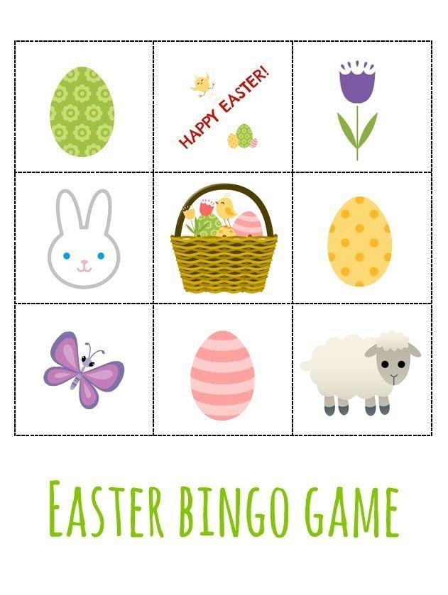 Animal SoundsEaster BINGO gamePre-teach and sing (Easter songs)