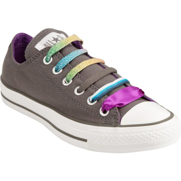 CONVERSE Chuck Taylor All Star Womens Shoes ($46) ❤ liked on Polyvore featuring shoes, sneakers, converse, zapatos, scarpe, women, striped sneakers, stripe shoes, converse footwear and converse sneakers