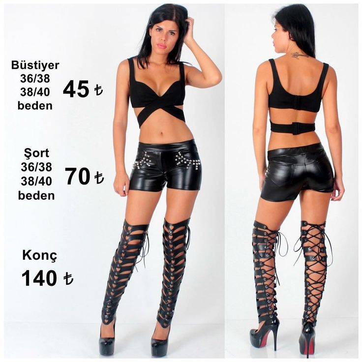 ☎️538 560 15 25 #Büstiyer #şort #deri #konç #Siyah #pantolon #tayt #moda #stil #dekolte #yırtmaç ...