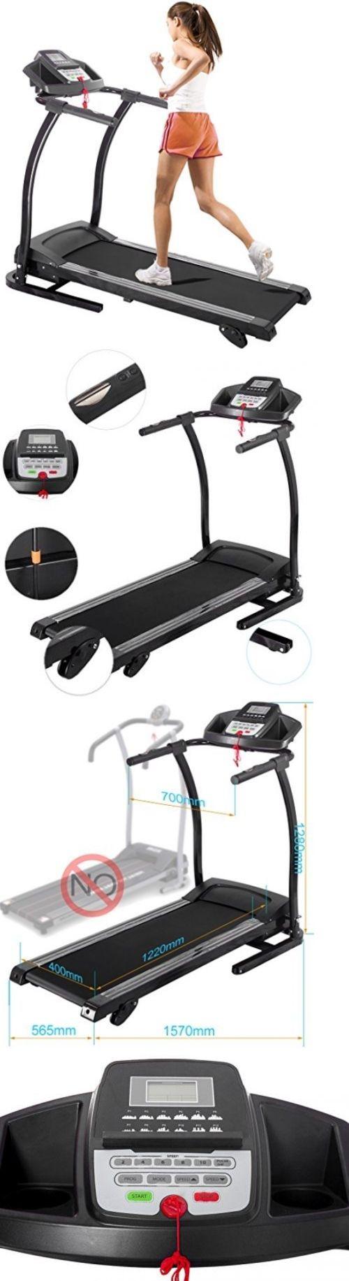 Treadmills 15280: Merax® Electric Treadmill Folding Motorized Running Machine 1.5Hp (1100W.) -> BUY IT NOW ONLY: $307.95 on eBay!