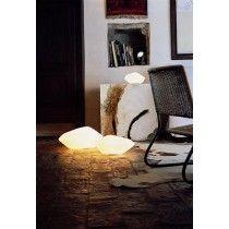 Stone of Glass glasbordlampe/gulvlampe
