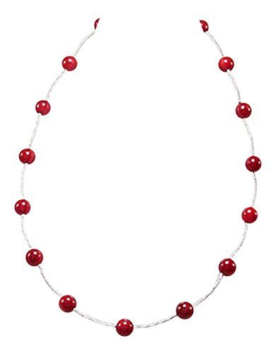 925 Sterling Silver Red Sponge Coral Women's Bead Necklace 17.5 inches 925e http://www.amazon.co.uk/dp/B018QUJWK4/ref=cm_sw_r_pi_dp_Obu7wb0N16BHN