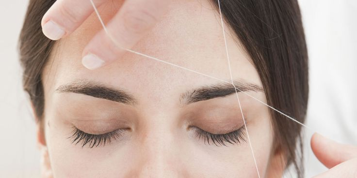 What to expect the first time you get your brows threaded - A little pain but a LOT of joy, via some sneezing and skin stretching