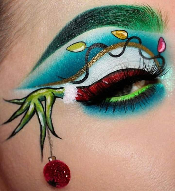 Pin By Samantha Weekly On Fashion Kills Christmas Makeup Look