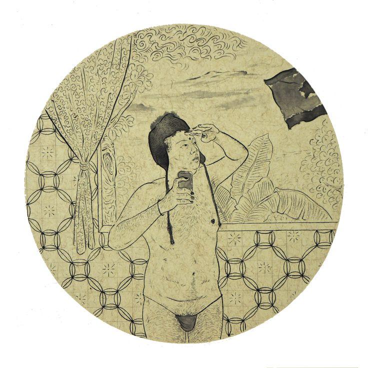 """Identity"" Artista: Xi Zhang, impresión, 21.5x28 cm, 2014 + PA"
