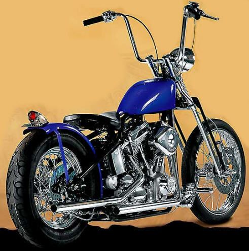 Aces High Bike and Chopper Kits from Bikers Choice