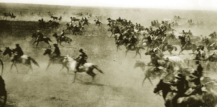 89ers, and all other various and sundry pioneers, to today's restless ... Oklahoma Land Rush