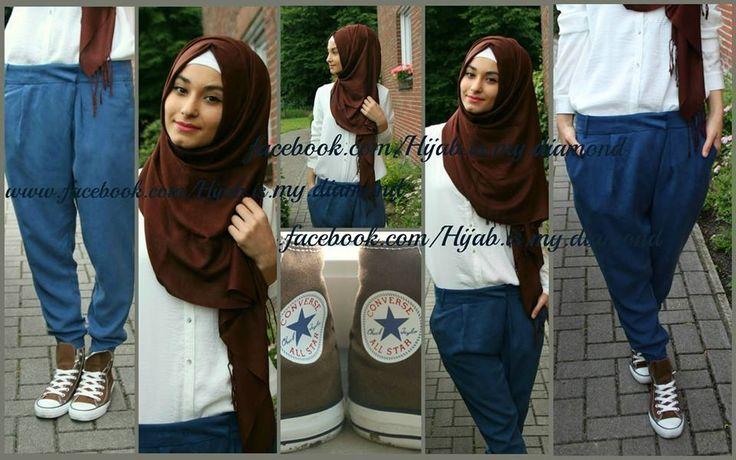 Hijab fashion my style