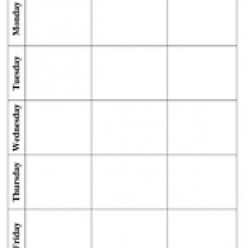 Blank Lesson Plan Template: This Weekly Lesson Plan Template will help organize…