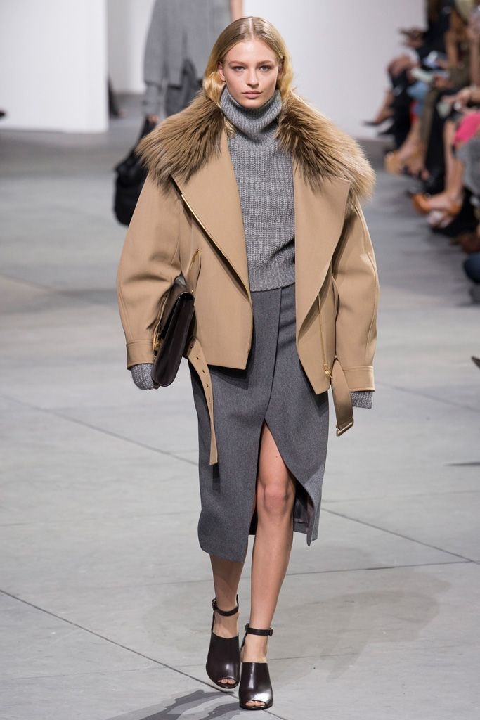 MICHAEL KORS COLLECTION (Michael · Course Collection) 2017-18 Fall / Winter Pret - a - porter Collection Runway 9th Photo