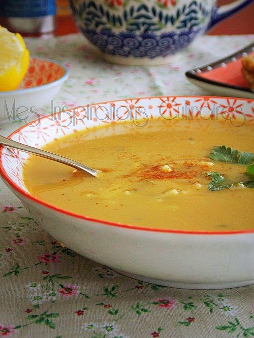 soupe aux pois cassés de maman