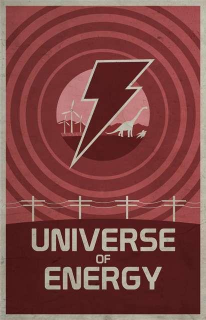 Universe of Energy - Walt Disney's EPCOT poster (1983)