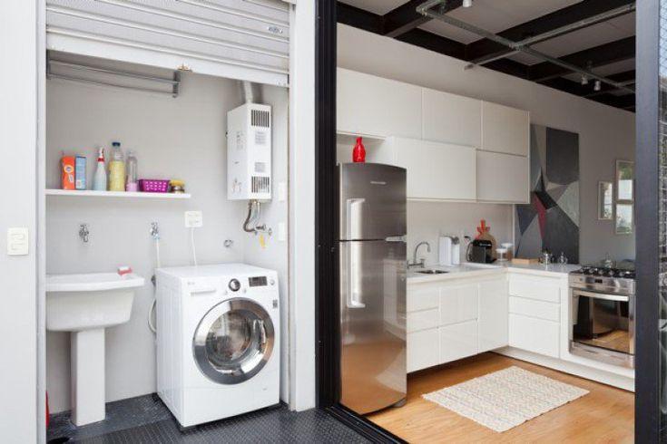 10 lavanderias pequenas que fogem do óbvio | Casa
