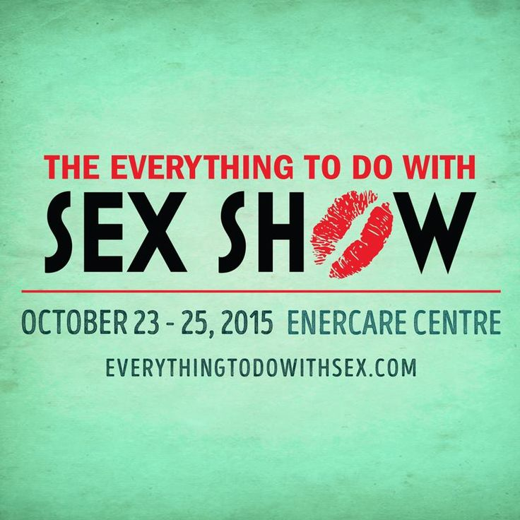 My writing is in the sex show's 2015/2015 magazine. Be sure to pick it up!
