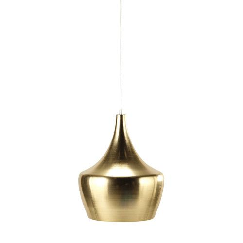 SWEET FOREST golden metal pendant lamp D 29cm