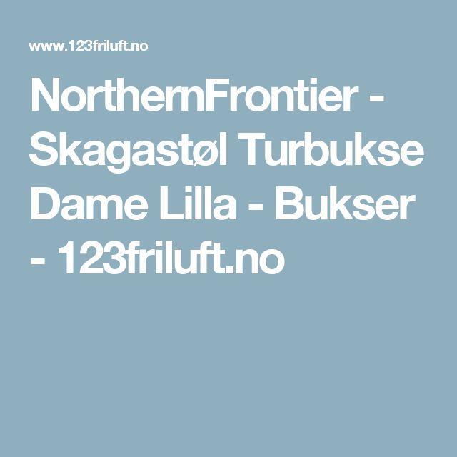 NorthernFrontier -         Skagastøl Turbukse Dame Lilla - Bukser - 123friluft.no