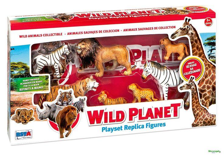 Playset ANIMALI DELLA GIUNGLA CON CUCCIOLI per bambini di 3 anniGli animali della giungla con i cuccioli per tanti giochi divertenti. Ci sono il leone, i leoncini, la tigre, i tigrotti, la zebra con il suo cucciolo. Gli animali in totale sono 7.Dimensioni Scatola cm 39 x 21 x 6Adatto per bambini di eta' superiore a 3 anniMarchio CE