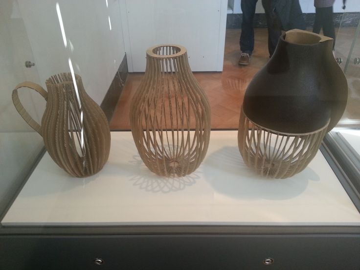 This is a photo I have captured of three pottery pieces at the Victoria and Albert Museum. I love these pieces because I think it is imaginative and creative. The use of the element cardboard in the pieces makes them stand out the most to me.