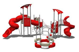 Fantastic Fun Rides are embellished with features like bright colors and uncommon designs which add delight to the outdoor experiences of kids. Materials are used LLDEP Plastics, lead free UV protected paint, galvanized metal elements.