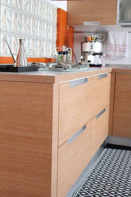 Cappello A Bombetta: Pavimenti a scacchi... la mia cucina/ Chess Floor ... my kitchen