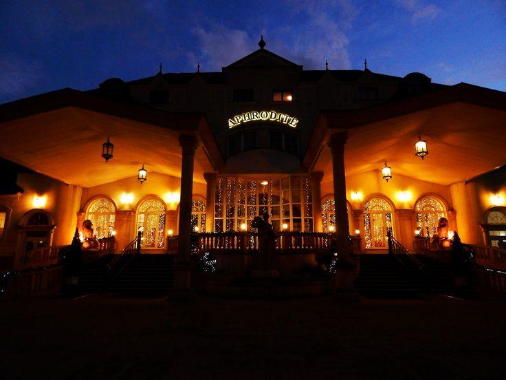 Hotel Aphrodite. #Aphrodite #hotel #spa #nature #photography #night #sky #architecture