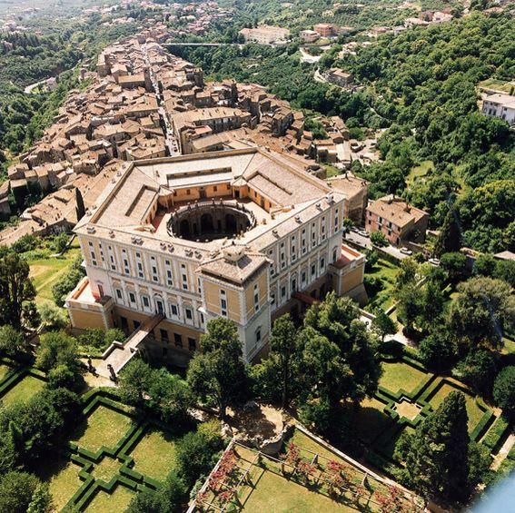 Caprarola - Centro Storico - Palazzo Farnese