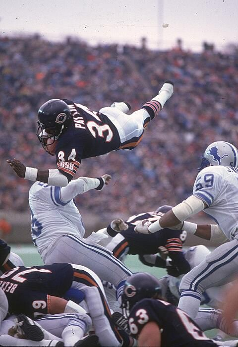 Walter Payton. Maybe the greatest. In my humblest opinion...he was the greatest!