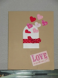 ValentineHandcrafted Things, Escape Heart, Handmade Cards, Cards Samples