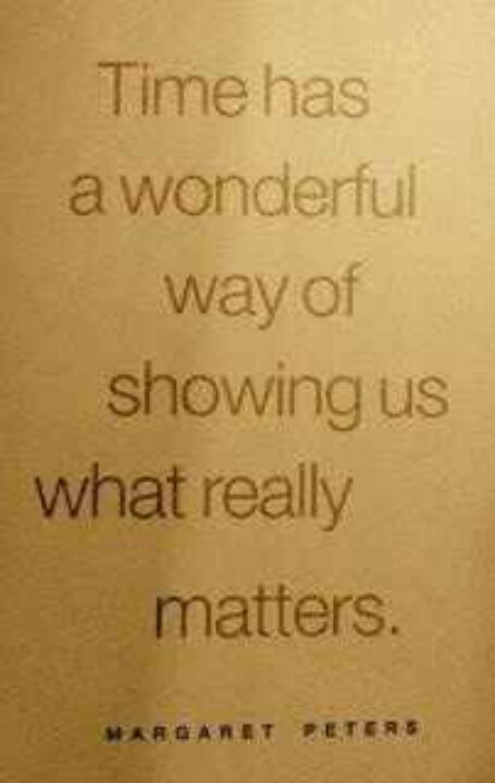 Time has a wonderful way of showing us what really matters. What matters to you? www.goodchoicecompanions.com