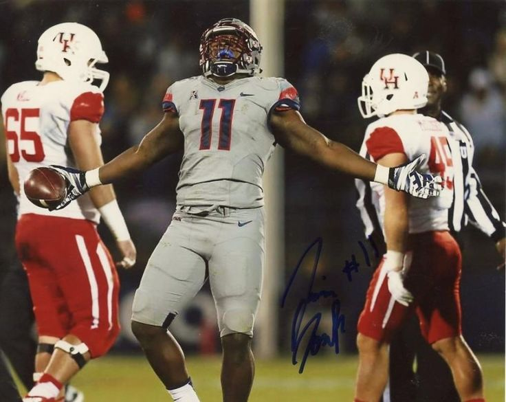 JUNIOR JOSEPH UNIVERSITY OF CONNECTICUT SIGNED AUTOGRAPHED 8X10 PHOTO W/COA