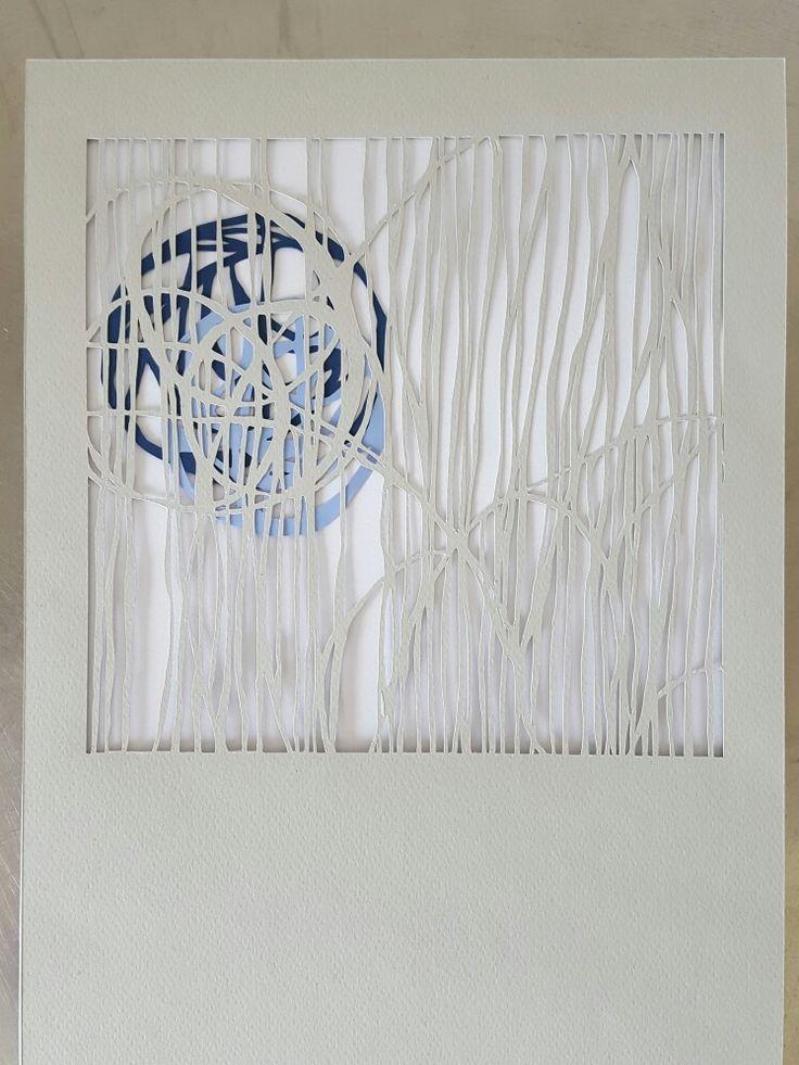 Papercut art. 20 x 20cm