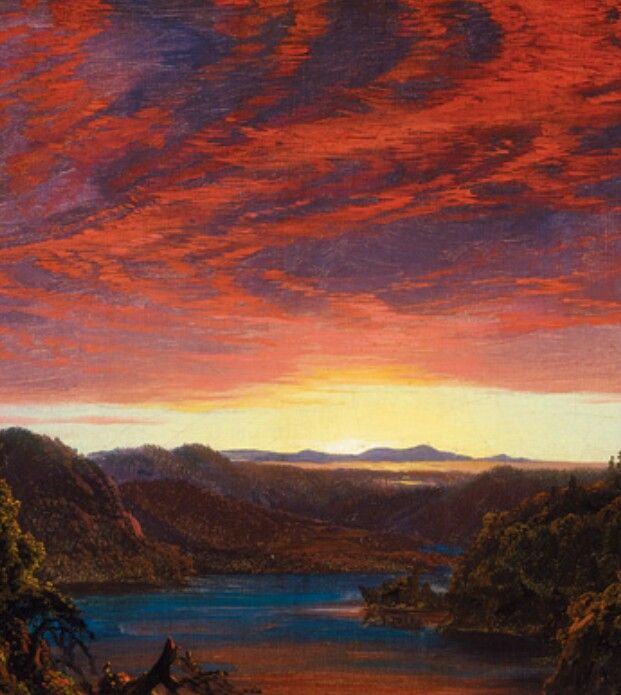 124 best artist frederick edwin church images on for Frederick church paintings