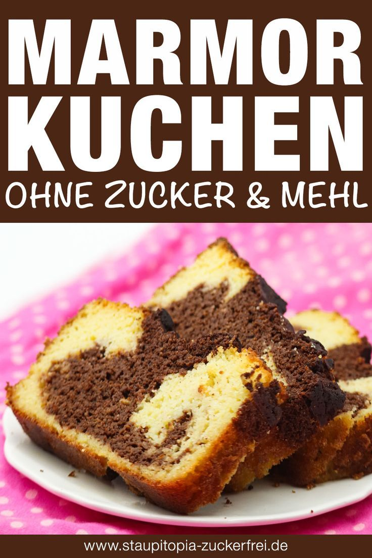 Low Carb Marmorkuchen Mit Kokosmehl Rezept In 2020 Kuchen Ohne Zucker Und Mehl Marmorkuchen Kokosmehl