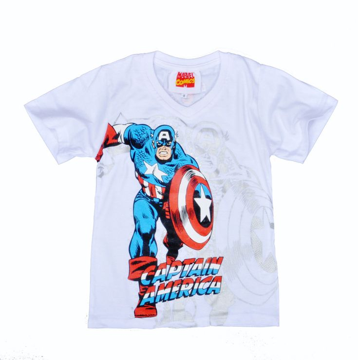 Find More T-Shirts Information about 2016 Boys children t shirt Anime Captain America printing Tops T shirt fashion Brands Short Sleeved Summer boy t shirt clothes,High Quality t-shirts hardy,China clothes machine Suppliers, Cheap t-shirt dry from bingo bluesky's store on Aliexpress.com