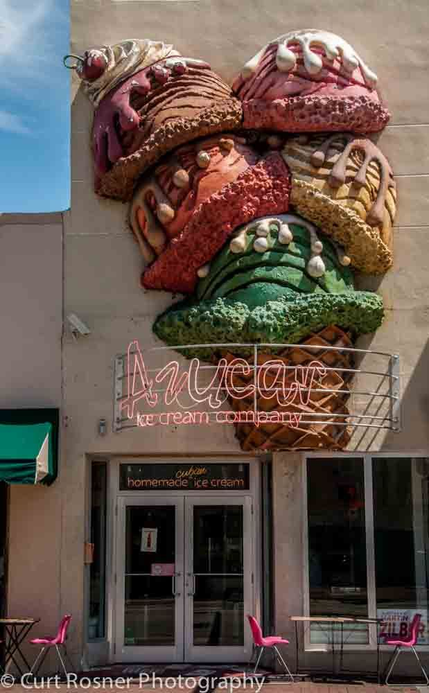 Azucar Calle Ocho, a great place for ice cream.