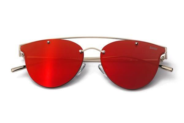 THE SHINE REVO | Óculos de Sol Espelhado Estilo Aviador Steampunk Com Top Bar