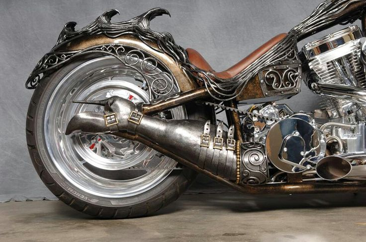 Steel leg show-rat bike - awesome!