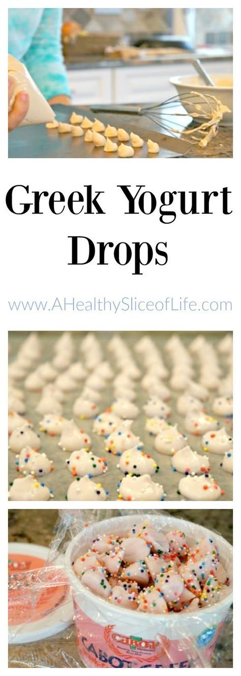 DIY Greek Yogurt Drops recipe for Kids (young and old). Frozen Greek yogurt drops! I made them Thursday morning on my Thinking Outside the Lunchbox segment on FOX News Rising. These kid-friendly Frozen Greek Yogurt drops are great for kids of all ages, f