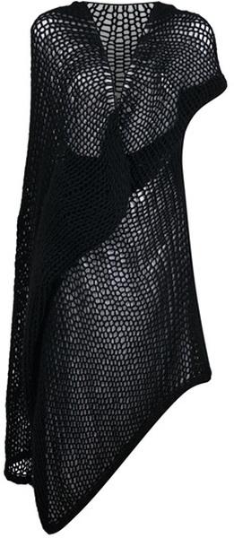Rick Owens Asymmetric Dress