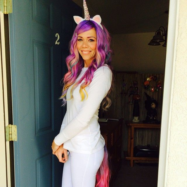 Pin for Later: 27 Cute Costumes That Will Make You Feel Pretty in Pink Classic Unicorn