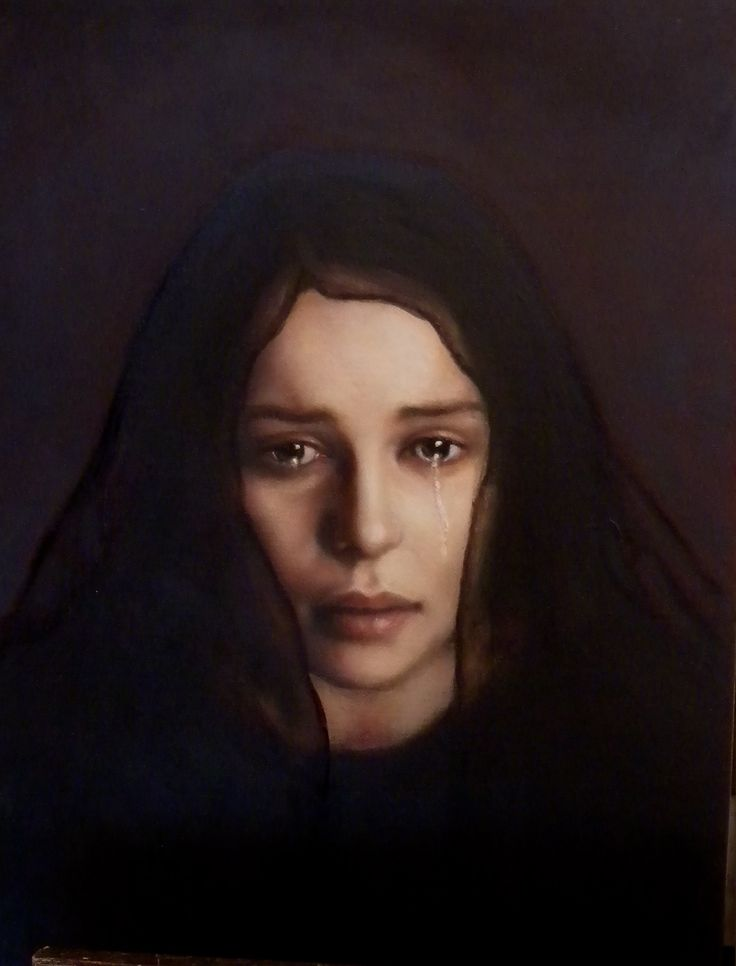 Louise Greig - The Lamentation - oil on linen (2014)
