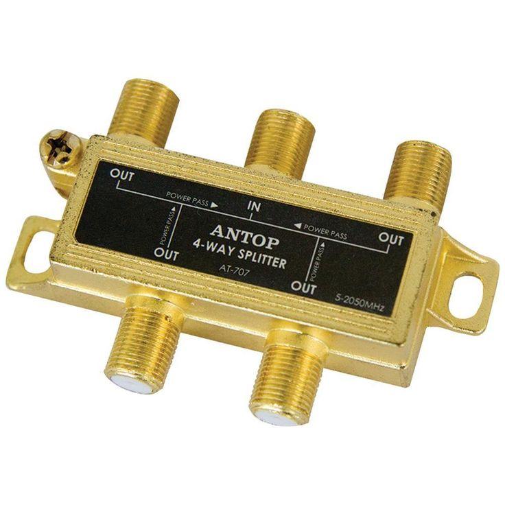 Antop Antenna Inc 4-way 2ghz Low-loss Coaxial Splitter