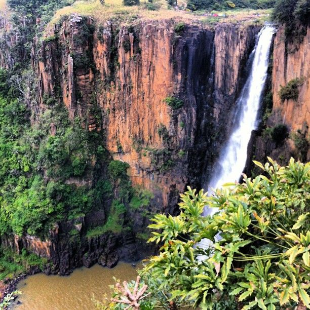 Howick Falls in Howick, KwaZulu-Natal