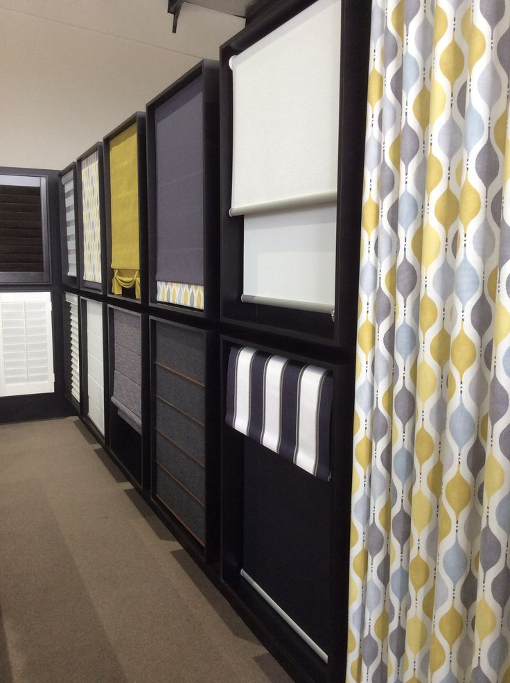 Our gorgeous wall of blinds ... we have sampled many options to illustrate the large range available to you at FACTORY DIRECT prices!