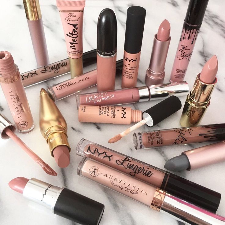 Need all of these nude lippies.