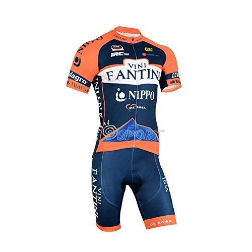 2016 Outdoor Sports Pro Team Mens Short Sleeve Vini Fantini Nippo Cycling Jersey Maillot Ciclismo Short Sleeve and Cycling bib Shorts Cycling Kits Strap cycle jerseys Set >>> You can find more details by visiting the image link.